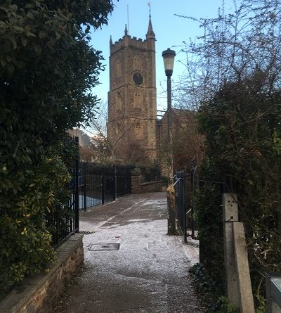 St Michaels on the Mount Bristol Snow