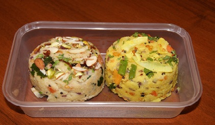 If You Are Looking For An Alternative To The Usual School Lunch Box Soggy Sandwiches London Restaurant Sitaaray Recommends Upma As South Indian Snack