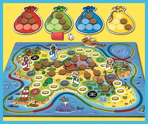 Treasure Island Game Board