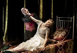Hannah Vassallo as Aurora. Photo: Simon Annand