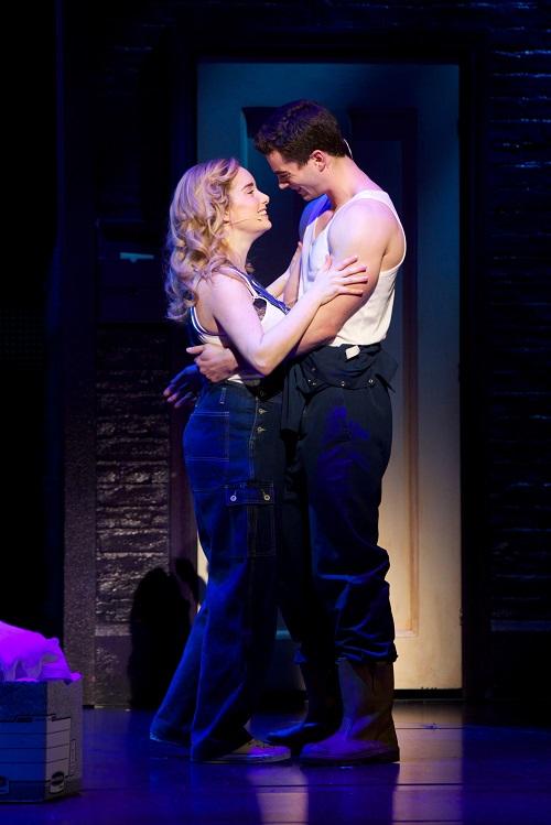 Stewart Clarke & Rebecca Trehearn 4 - Ghost The Musical - Photo Credit Sean Ebsworth Barnesed