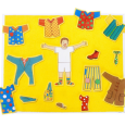 CBeebies character Mr Tumble, moves from TV to fuzzy felt, with this fun take on the classic toy. The set features a large flocked board and nearly 30 pieces of […]