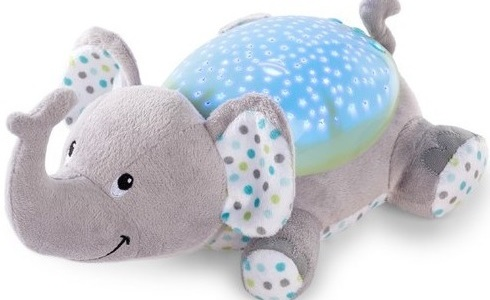 Perfect for bedrooms, babies and sensory areas. This calming stars and moon elephant will project lights onto the ceiling and walls of dark spaces. £24.99 Argos