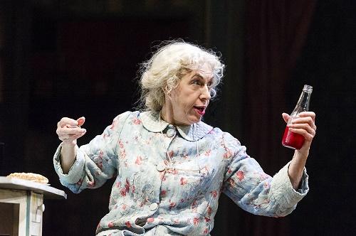 Photo by Alastair Muir: Andrea Miller as Grandma