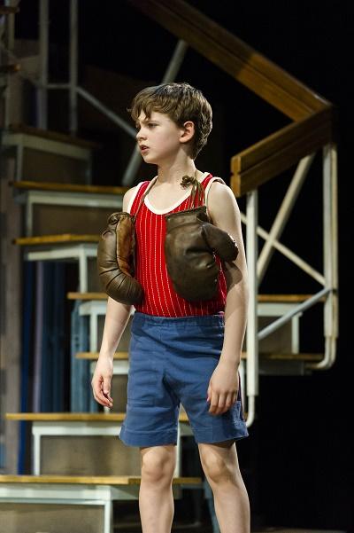 Photo by Alastair Muir: Haydn May as Billy Elliot