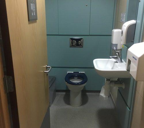 BRI Bristol gender neutral toilets