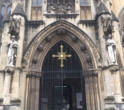 Bristol Cathedral Entrance