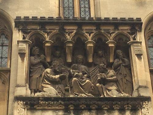 Bristol Cathedral Stonework