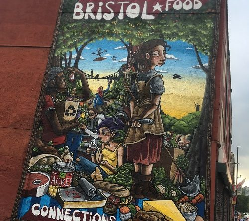 Bristol Food Connections Street Art Hotwells