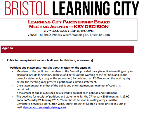 Bristol learning city