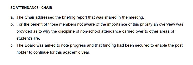 Bristol school attendance