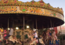 Butlins Minehead fairground carousel