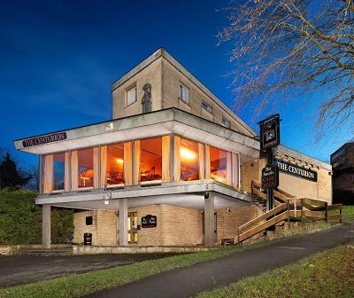 Centurion pub, Bath, exterior