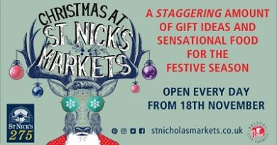 Christmas at St Nicks Market Bristol