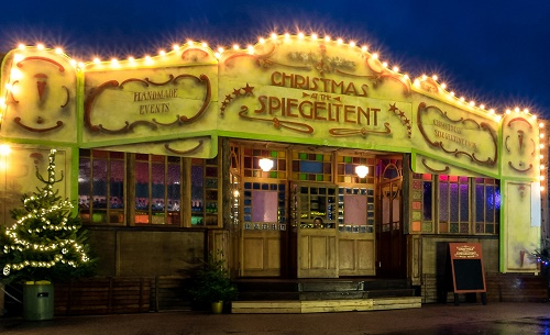 Christmas Spiegeltent Returns To Bristol Harbourside Entertainment In The City News From Chopsy