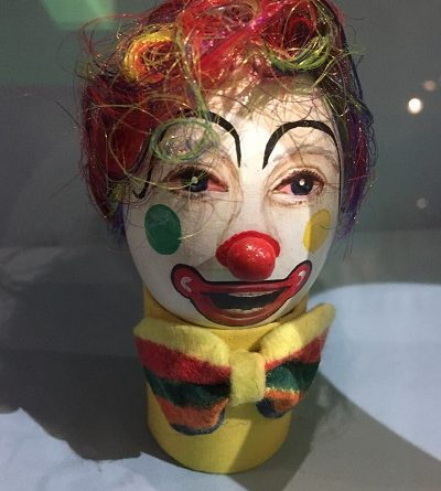 Clown Eggs Bristol museum