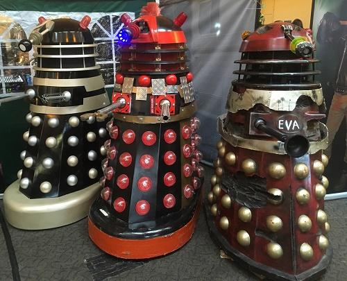 Daleks Bristol Comic Con