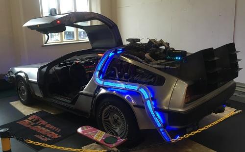 DeLorean Bristol Comic Con