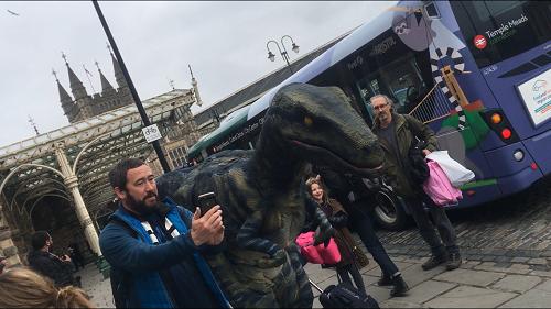 Dinosaurs Bristol Comic Con