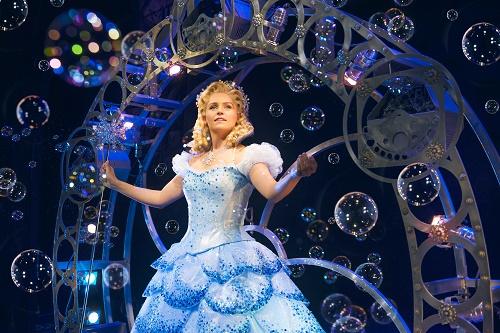 Helen Woolf as Glinda in WICKED UK & Ireland Tour