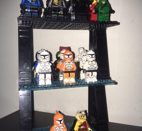 Lego Minifigure Desk Display