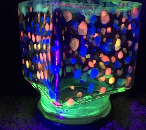 Glow in the dark fairy jar