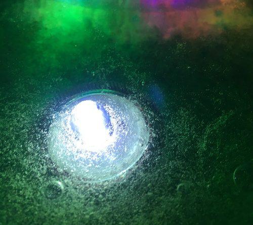 Sensory slime with lights