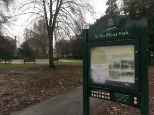 St Matthias Park St Judes Bristol