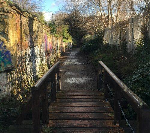 Castle Park Bristol