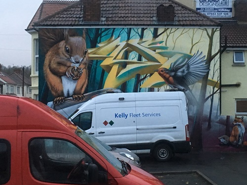 Street Art Bristol Eastville