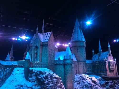 Hogwarts Castle Hogwarts in the Snow Harry Potter Studio Tour
