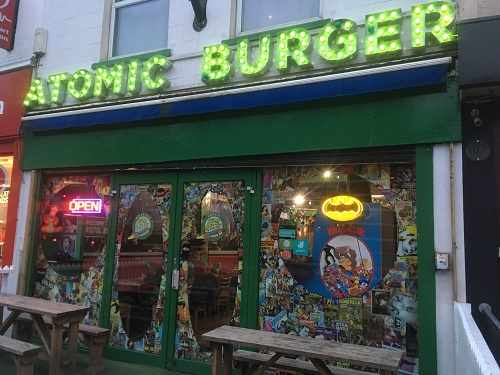 atomic Burger Bristol Gloucester Road