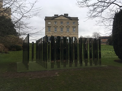 Mirror Maze Royal Fort Garden Bristol University