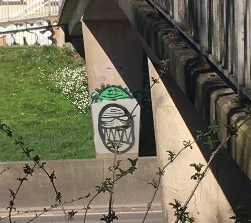 Street Art Bristol M32