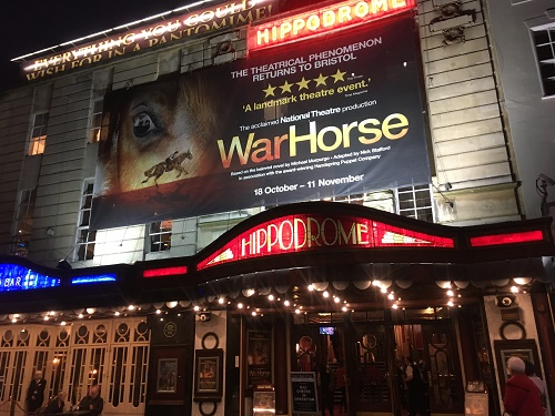 War Horse at The Bristol Hippodrome