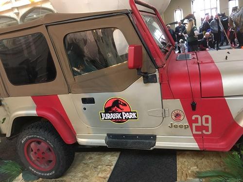Jurassic Park Car Bristol Comic Con