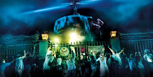 MISS SAIGON. Company. Photo Cameron Mackintosh