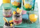Magic Unicorn Oats Fruit Breakfast Recipe from Dole
