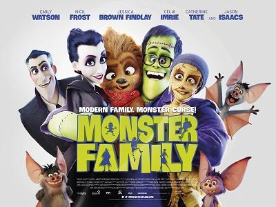 Monster Family Cinema Poster