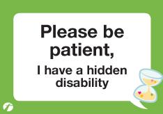 Hidden Disability Safe Journey Card First Bus