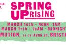 Spring uprising Bristol