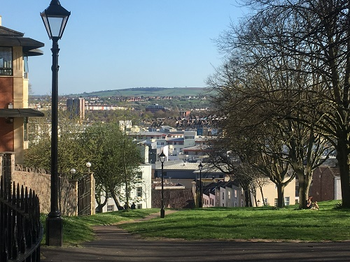 View of Bristol from Brandon Hill