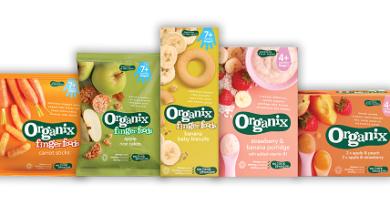 WIN: A £20 bundle of Organix Baby Food
