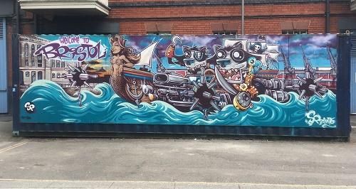anchor road bristol street art