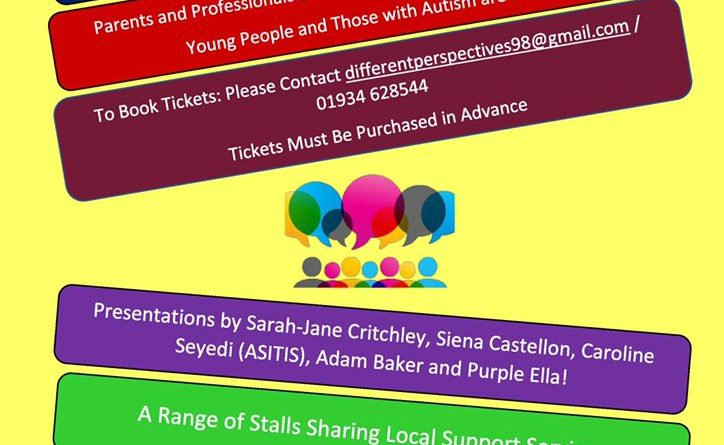 An autism networking event is taking place in Weston Super mare in April 2020