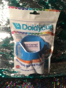 Doidy Cup with Bickiepegs and Bickiepegs Finger Toothbrush and Gum Massager