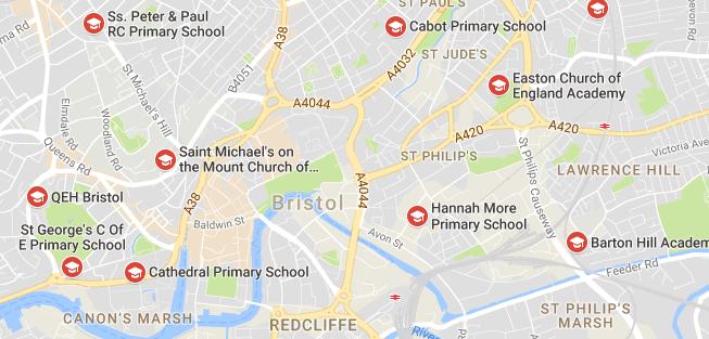 Central Bristol Prmary Schools