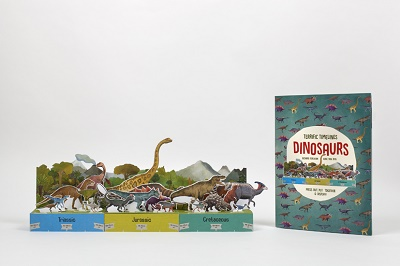 Terrific Timelines dinosaur book