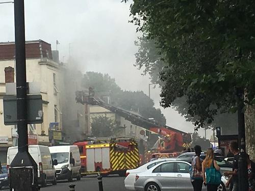fire stapleton road bristol