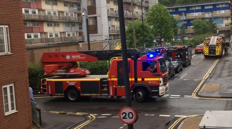 Flat Fire St Judes Bristol
